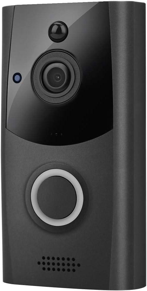GINELO Wireless Intercom Doorbell WiFi IR Video San Antonio Mall with Chime Senso excellence