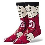 Stance The Friar MLB Mascot Socke - Rot - Medium