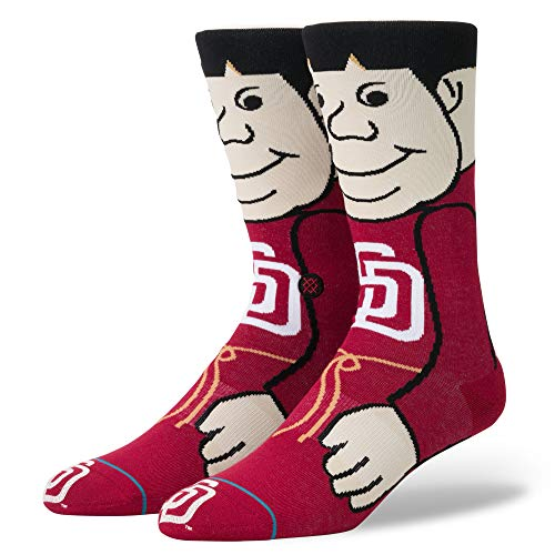 Stance The Friar MLB Mascot Socke -  Rot -  Jugend Large