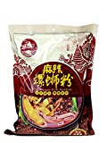 GUANGXI LIUZHOU SPECIALTY LUO BA WANG Brand Instant Rice Noodle - Sichuan Spicy Soup Base Flavor - 正宗柳州螺霸王螺蛳粉麻辣味 (5 Pack)