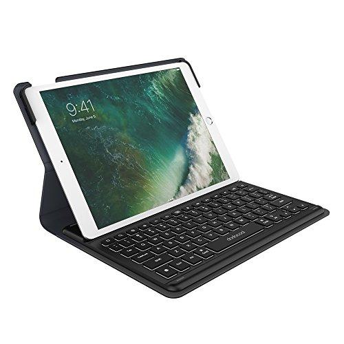 docool iPad toetsenbord Case, MFi-gecertificeerd Smart Keyboard Case voor iPad Pro 10,5 inch, Ultra Slim Wireless Smart Keyboard Case Cover, automatische wake-/slaapfunctie, achterlicht