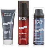 Biotherm Homme Total Recharge - Loción anti-imperfecciones, 3 piezas, 200 gr