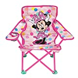 Minnie Mouse Kids Camp Chair Foldable Chair with Carry Bag