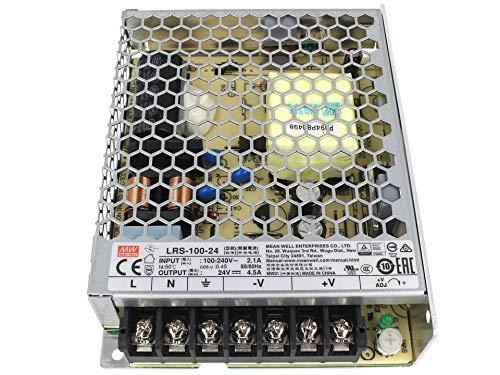 Alimentatore MeanWell CV Trasformatore 24V 100W 4,5A LRS-100-24 Da AC 220V A DC 24V Per Luce Led