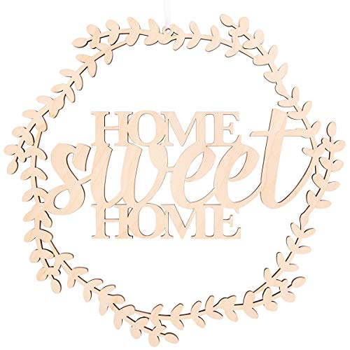 Kleinlaut Holzkranz - Home sweet home