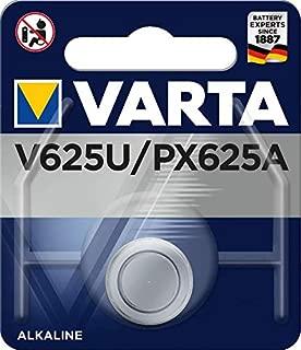 Varta 625U Electronic Alkaline 1.5V Battery for Cameras/MP3 Player and GameBoy (Blue Silver)