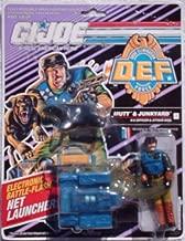 Original 3-3/4 inch GI Joe D.E.F. Mutt and Junkyard Action Figure (1991 Hasbro)