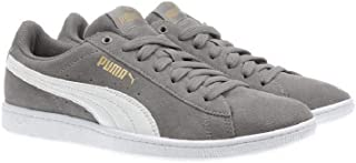 Ladies' Vikky Suede Shoe (7, Grey)