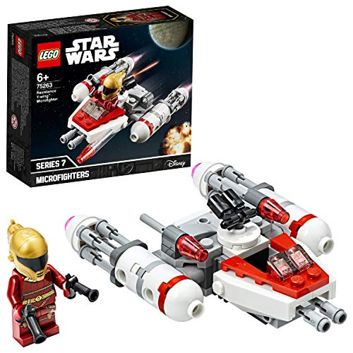 LEGO 75263 - Widerstands Y-Wing Microfighter, Star Wars, Bauset