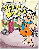 原始家族フリントストーンの男の洞窟土曜日の朝の漫画ルーニーテューンズブリキの看板ヴィンテージ面白い生き物鉄の絵画金属板人格ノベルティ