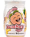 Nu Health Fruit Peach Drinkable Fruit Cups, All Natural Fruit in 100% Juice, Vegan, Gluten Free, No Sugar Added, Healthy Snacks with Vitamin C & Potassium, 4.5 oz Snack Cups, 8x4 Pack (32 Pack)