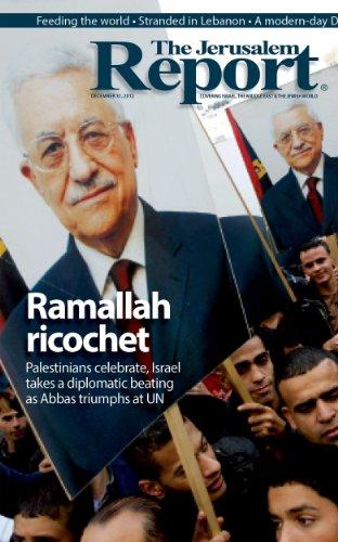 The Jerusalem Report, December 31, 2012 (English Edition)
