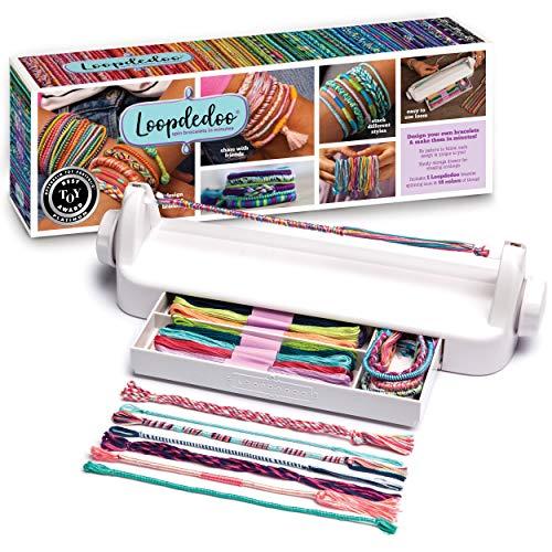 Loopdedoo – DIY Friendship Bracelet Maker Kit – Make Bracelets in Minutes – Award-Winning Craft Kit – Fun DIY Jewelry Kit