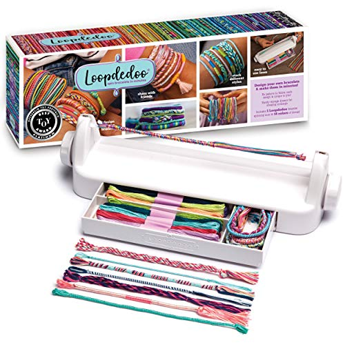 Loopdedoo - Friendship Bracelet Maker Kit - DIY Friendship Bracelets in Minutes - Award-Winning Bracelet Kit