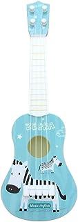 لعبة جيتار AKDSteel للأطفال 4 خطوط، 43.18 سم للرضع والأطفال الجيتار لطيف على شكل قافية موسيقية تطور الأطفال