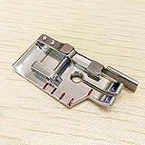 Pie YICBOR 1/4' con guía, Snap On #P60618/SA185 para Singer, Brother,Babylock,Pfaff,Bernette,Janome,Simplicity y más máquinas de coser