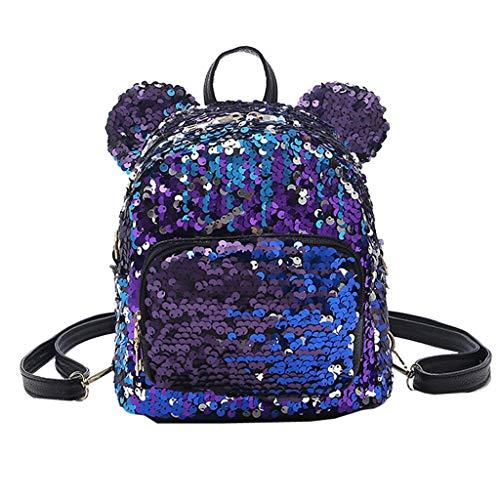FORUU Bags, 2020 Best Gift For Father Lover Boyfriend Husband Trendy Stylish Unisex Fashion Lady Sequins School Backpack Satchel Girls Student Travel Shoulder Bag