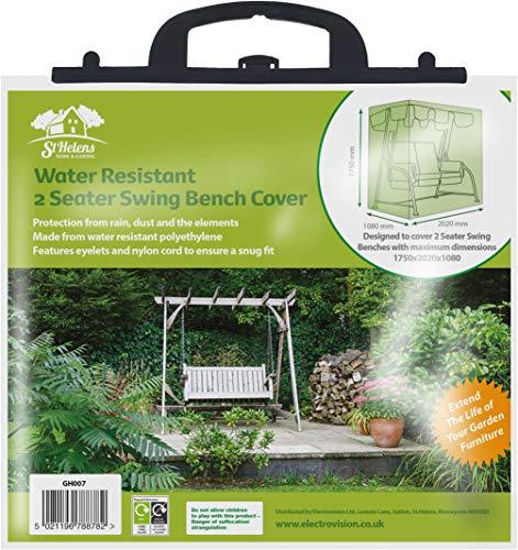 Sutton Maison et Jardin résistant à l'eau pour Banc 2 Places Swing
