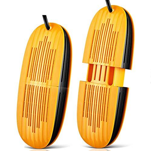 AIERMO Secador de Zapatos Calentador de Arranque eléctrico, Guantes retráctiles Calcetines Calentador de pies, Secado de Calzado portátil de esquí