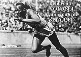 Jessie Owens Leichtathlet Olympische Spiele Schwarzweiß