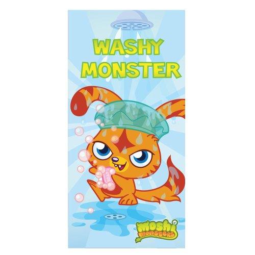 Zap Moshi Monsters Toalla Nuevo Sellado Oficial 100% algodó