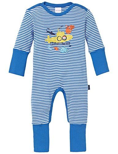 Schiesser Baby-Jungen Anzug mit Vario Zweiteiliger Schlafanzug, Blau (blau 800), 62