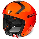 Briko Vulcano fis 6.8 ' Fluid Inside Casque de Ski/Snow, Unisexe Adulte, Mixte Adulte, 2001SS0, Orange, 056