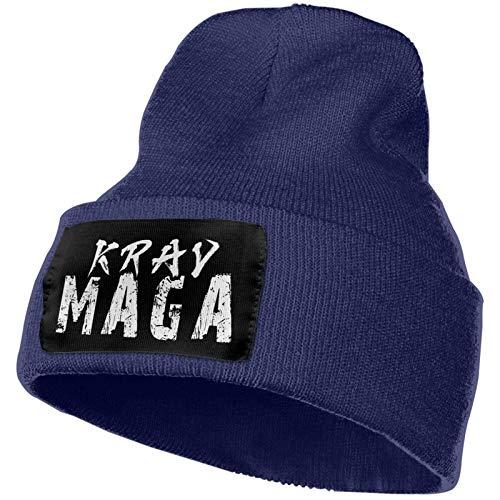 AEMAPE Krav Maga Sombrero de Punto Unisex Gorras de Calavera de Moda Sombreros de Tejer