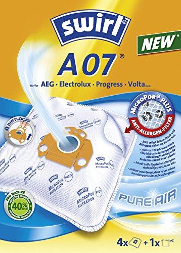 Melitta Swirl 4Staubsaugerbeutel A 07+ 1Filter MicroporPlusFilter