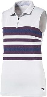 Puma Golf 576157 Women's 2018 Road Map Sleeveless Polo Shirt