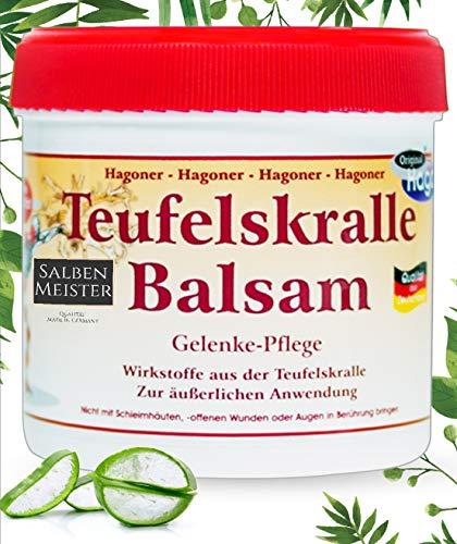 Teufelskralle-Balsam mit Aloe-Vera, Lavendelöl, Rosmarin, Johanneskraut | Teufelskralle-Creme | Teufelskralle-Salbe | 200ml