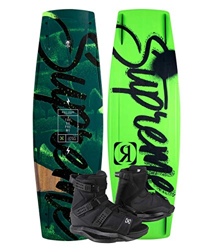 Ronix Supreme 145 Wakeboard Package with Anthem Wakeboard Boots - 5-8.5