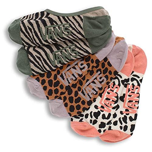 Vans Damen Safari CANOODLES 6.5-10 3PK Socke, Multi, One Size (3er Pack)