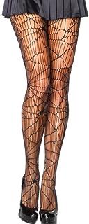 Leg Avenue medias de rejilla para mujer agujeros cuadrados negros talla /única