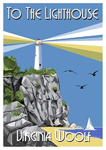 To the Lighthouse Illustrated (English Edition)