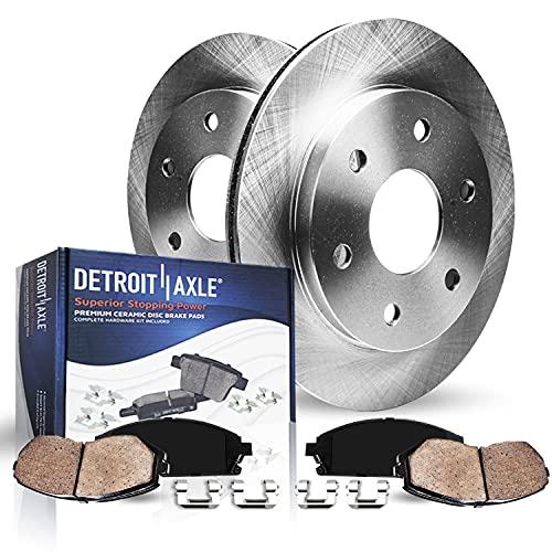 Detroit Axle - 6 Lug Front Brakes Replacement Kit...