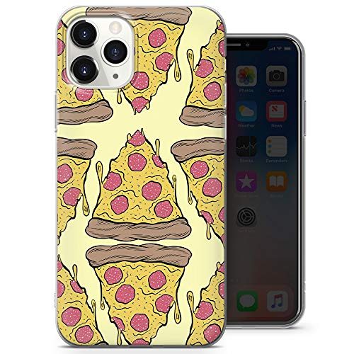 Fresh Hot Pizza - Funda para teléfono con tapa para iPhone 6+, iPhone 6s+, iPhone 6 Plus, iPhone 6s Plus, iPhone 6s Plus - Delgada y suave TPU silicona parachoques - Diseño 3 - A47
