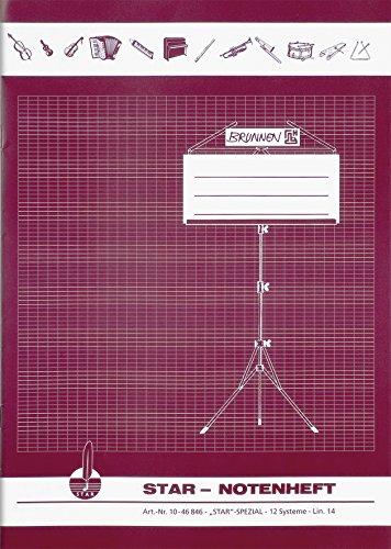 Brunnen 1046846 notitieboekje (A4, 8 vellen, met hulplijnen)