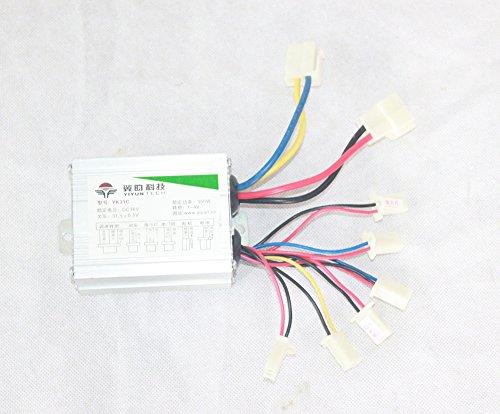 24V36V 350W Controlador eléctrico de la velocidad del motor del cepillo para el kit de la conversión del ebike (36V350W)