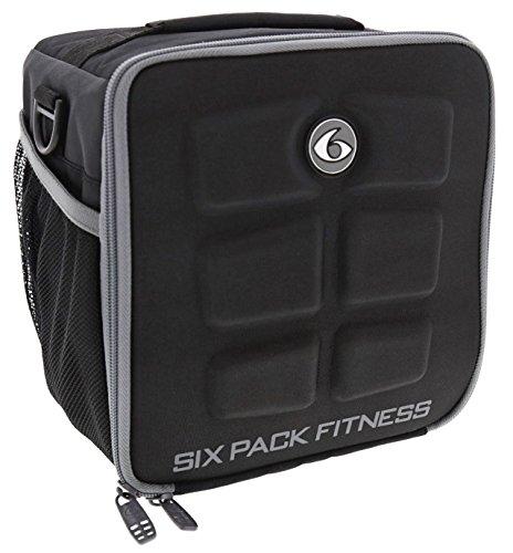 6 Pack Fitness Innovator Cube Americas #1 Elección en la gestión de la preparación de comidas 3 - Comida (negro/gris)