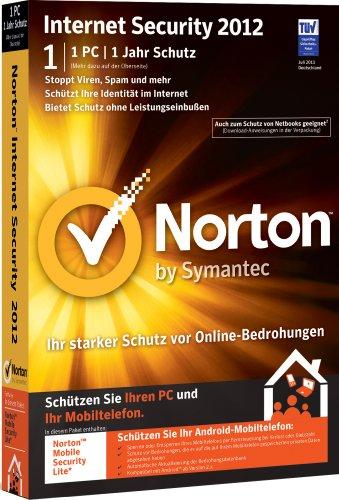 Norton Internet Security 2012 - 1 PC - deutsch (inkl. Update 2013) [import allemand]