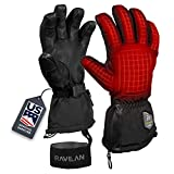 Ravean Heated Ski Gloves & Mittens - 7.4v Rechargeable...