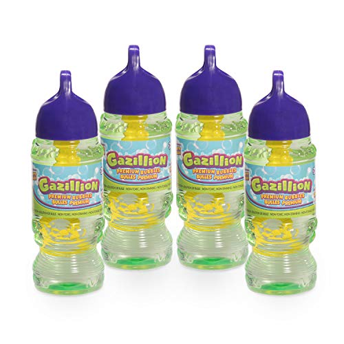 Product Image of the Gazillion Bubbles Solution 10 oz. 4 Pack, Green (36493)
