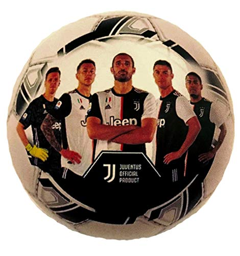 Juventus Pallone Juve Ufficiale Mondo Leggero in PVC Misura Diametro 20 cm. PALJUPVC06174
