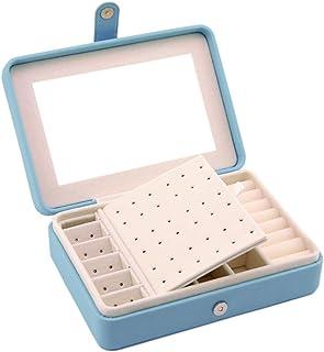 Bausweety Jewelry Box For Women Necklace Earrings Rings Jewelry Accessory Organizer