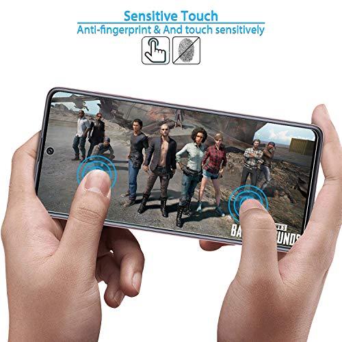 ANEWSIR Schutzfolie Kompatibel mit Samsung Galaxy A51 Schutzfolie Displayschutzfolie, Displayschutz [3 Stück ] [Installationswerkzeug] [Positionierungsrahmen] [Anti-Kratzen] [Blasenfrei] [2.5D Rand].