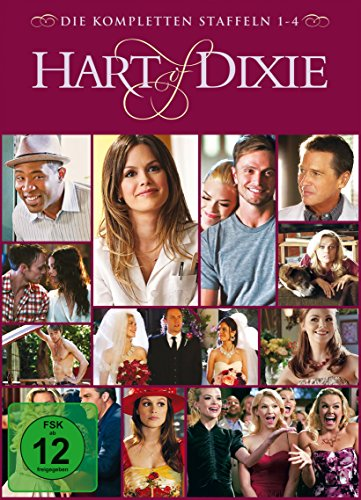 Hart of Dixie - Die kompletten Staffeln 1-4 (exklusiv bei Amazon.de) [Limited Edition] [12 DVDs]