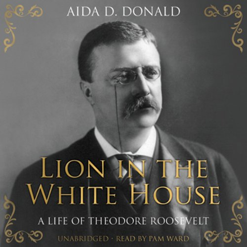 Lion in the White House audiobook cover art