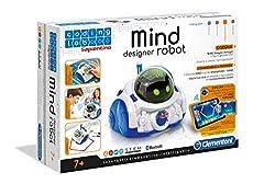 Clementoni 12087 - Mind Designer Robot Educativo Intelligente, 7+ anni