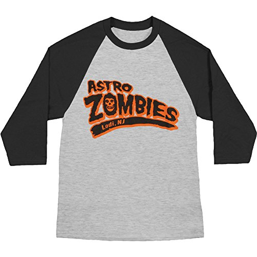 The Misfits - Astro Zombies (Front/Back Raglan) Longsleeve Shirt Size M